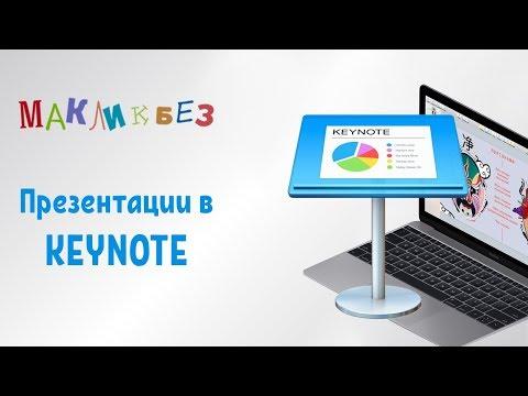 Как сделать презентацию на макбуке