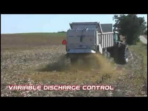 Kuhn Knight PSC Manure Spreader with AccuSpread Spinner Option