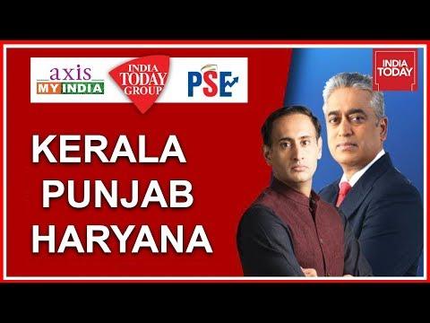 Tracking Political Mood Of Kerala, Punjab & Haryana   Political Stock Exchange