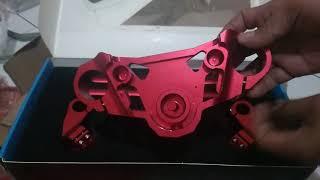Download Video Stang jepit New Vixion set (stang+segitiga) merk Cardinals racing MP3 3GP MP4
