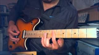 Ozzy / Jake E. Lee - Secret Loser - Guitar Lesson - Intro, Verse, Chorus