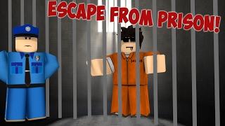 ESCAPE ROBLOX PRISON!