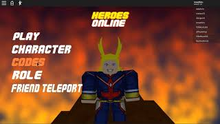 New Code in Heroes Online(Roblox 2 New Code