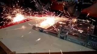 an angle grinder dl380 g6 and a gtx 660 oc
