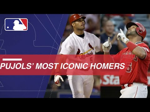 Albert Pujols: Iconic home runs from every year of his career