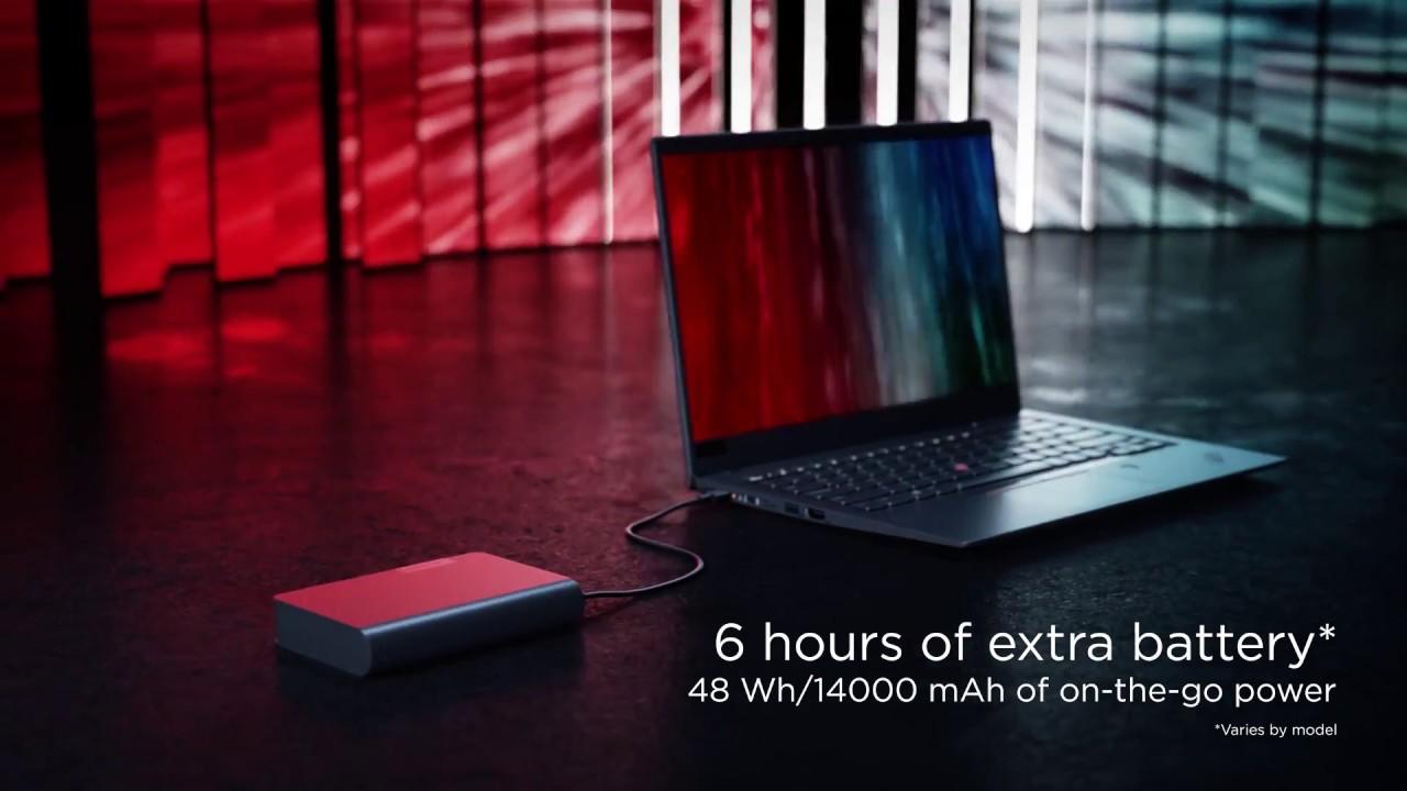 Lenovo Usb C Laptop Power Bank Product Tour Video Youtube