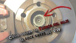 Video Cómo quitar la tuerca del buje de doce caras de VW   (En español) download MP3, 3GP, MP4, WEBM, AVI, FLV April 2018