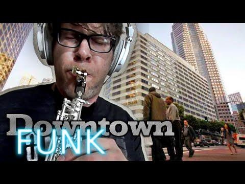Downtown Funk - Soprano Saxophone - BriansThing