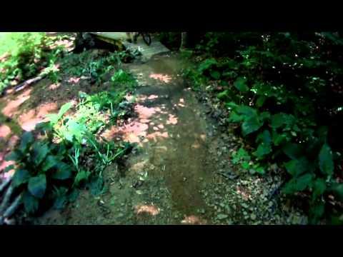 Lewis Morris Park Mountainbike Trails - Hairpin Turn