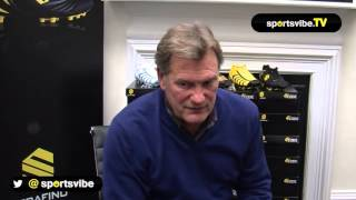 Glenn Hoddle Talks About The New Serafino 4th Edge Boot