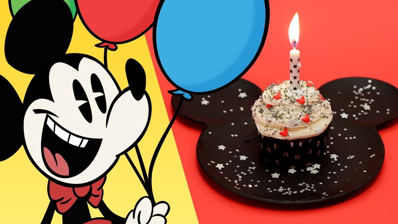Mickey Mouse Birthday Cupcake Dishes by Disney Disney Family