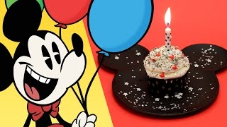 Mickey Mouse Birthday Cupcake | Dishes by Disney | Disney Family