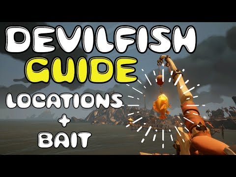 HOOKED - Sea Of Thieves Fishing Guides L Tips N' Tricks - THE DEVILFISH