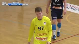 СКА Минск - ЗТР Запорожье (15-04-2018) Балтийская Гандбольная Лига