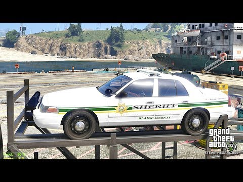 GTA 5 MOD LSPDFR 10 (GTA 5 MOD) SHERIFF