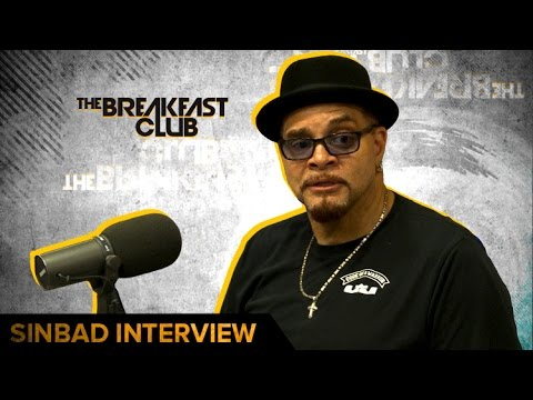 Sinbad Talks  Area 51, NBA , Election & Trump + Running For