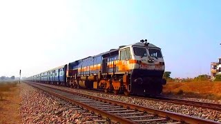 High Speed Diesel:IZN WDP4D roars at 110 kmph with 15013 Ranikhet Express