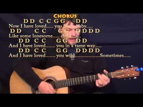 Seven Bridges Road (The Eagles) Strum Guitar Cover Lesson with Chords/Lyrics