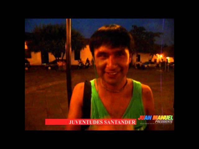 Los jóvenes en Girón, Santander, Creemos en la PAZ