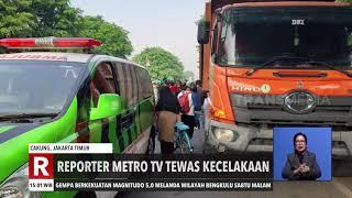 Jurnalis Metro TV Tewas Kecelakaan | REDAKSI SORE (22/11/20)