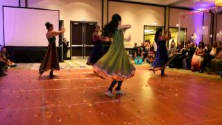 Shivanee & Vikram - Wedding Reception Cousins Bollywood Dance