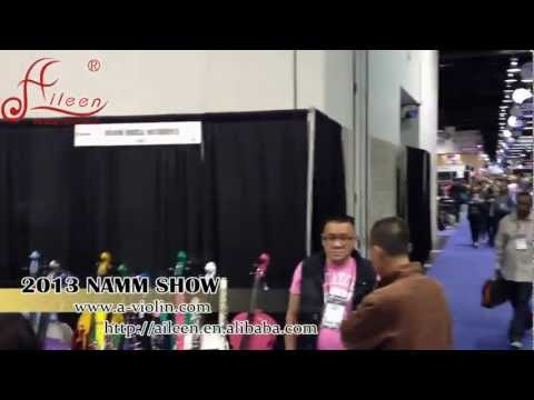 Aileen Music 2013 Winter NAMM Show-Best Musical Instrument Supplier.mp4