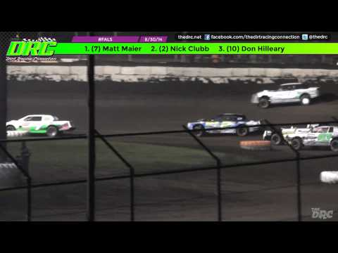 #FALS | Fairbury American Legion Speedway | 8.30.14 | Street Stock Feature