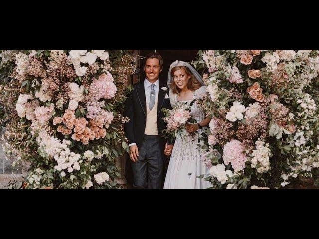 Mariage de Beatrice d\'York \: les premières photos dévoilées, où est Andrew?