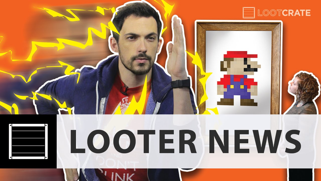 Looter News: The Flash in Theaters, National Videogame Arcade