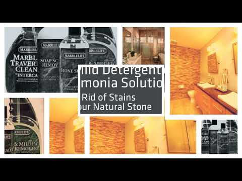 How To Clean A Natural Stone Shower In Melbourne