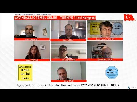 Problemler, Beklentiler ve VATANDAŞLIK TEMEL GELİRİ / VTG - TÜRKİYE 1'inci Kongresi
