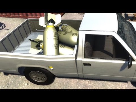 Shipping Explosive Bombs! - BeamNG.drive