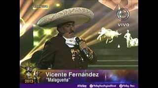 """Yo Soy Vicente Fernández - """"La malagueña"""" (05/08/2013)"""