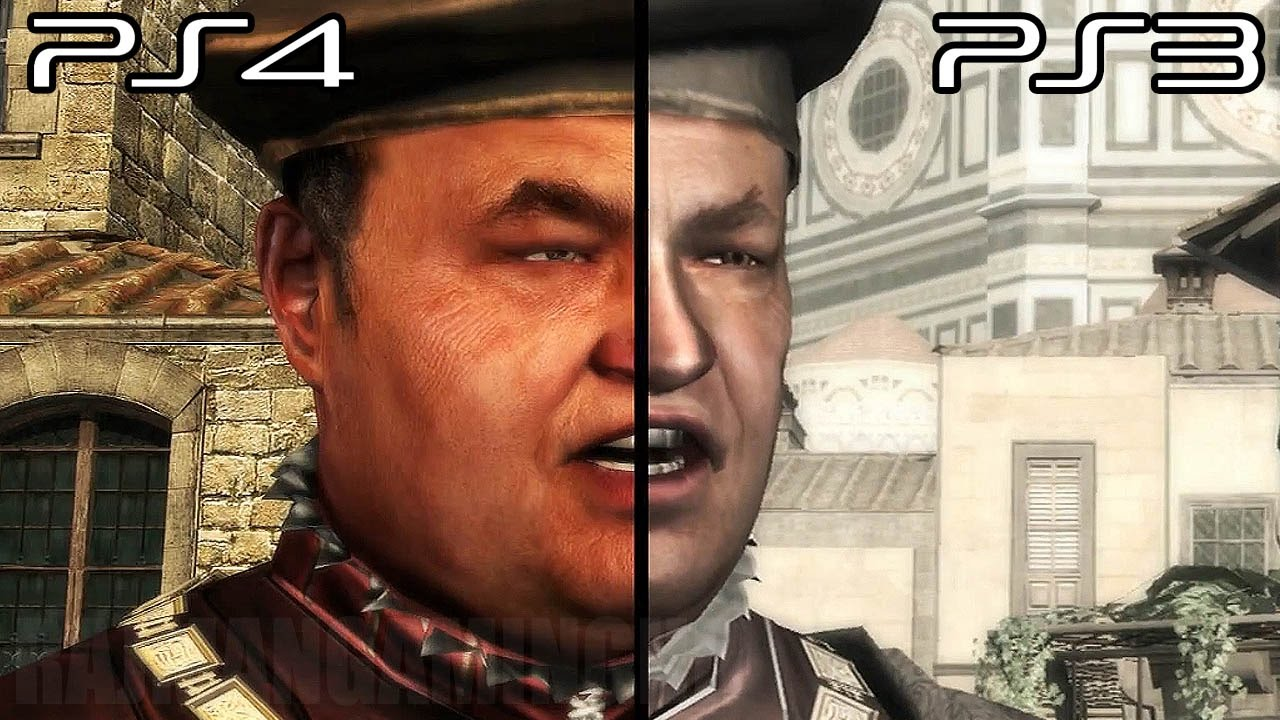 Assassin S Creed The Ezio Collection Ps4 Vs Ps3 Comparison Video