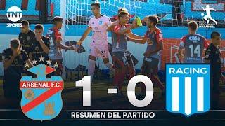 Resumen de Arsenal vs Racing (1-0) | Fecha 6 | Zona 1 - Copa Diego Armando Maradona