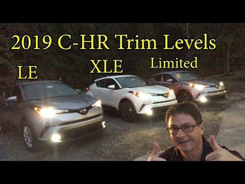 Comparing 2019 C-HR Models - How to pick your trim level