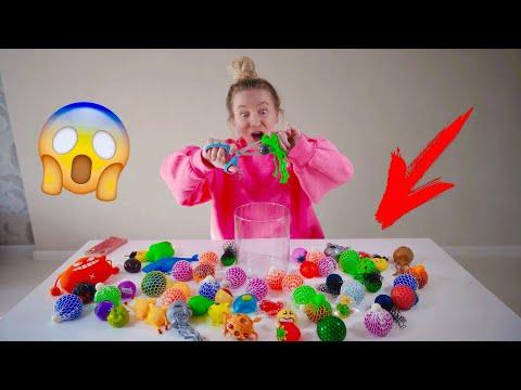 Видео как разрезают антистрессы