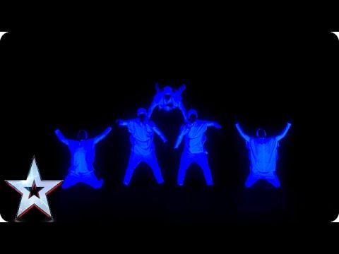 Видео, Dance act UDI light up the stage  Semi-Final 3  Britains Got Talent 2015