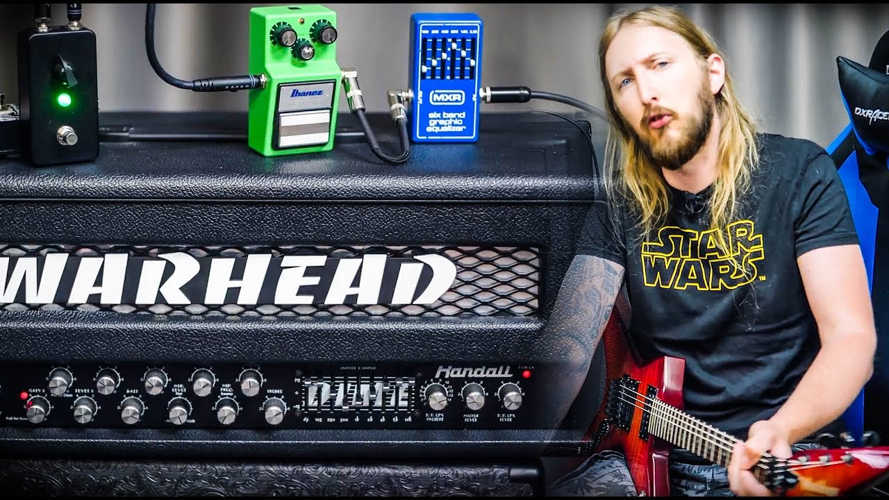 randall warhead dimebag darrell guitar tone youtube. Black Bedroom Furniture Sets. Home Design Ideas