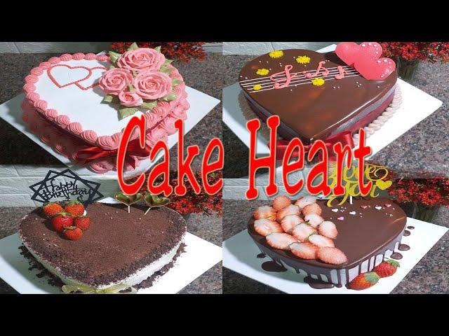 Happy Valentine │Decorate heart cake for Valentine's Day │103 │Bánh kem Valentine │BaoTram Cake