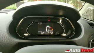 2019 Tata Tiago XZ+ Digital Instrument Cluster |Detailed Review | AutoTrend !!
