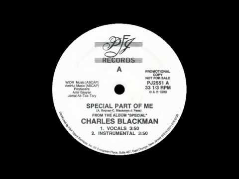 CHARLES BLACKMAN - special part of me (vocals) 89