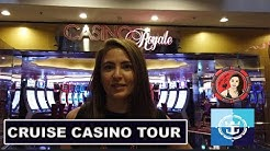 Ever Wonder What A Casino Looks Like on a Royal Caribbean Cruise? Full Tour!