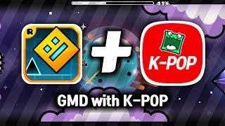 K-POP 노래로 만든 레벨! | Her Name Is - Mulpan 5★ ( 2 coin )  [ 지오메트리 대시 ]