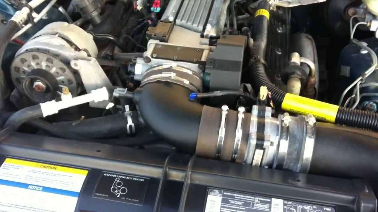 Lt1 Amp Ls1 K Amp N Cold Air Intake Overview Youtube