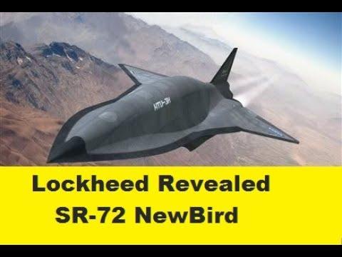 SR-72 New-Bird Lockheed Martin's Skunk Works Information Revealed