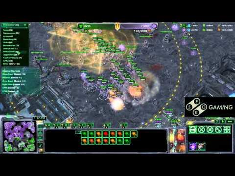SeKo Starcraft - Avilo vs Patton - Mega Long SC2 Match!