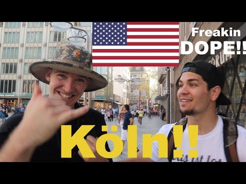AMERICANS visit COLOGNE GERMANY!!