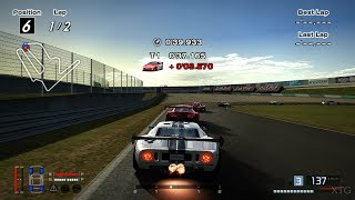 Gran Turismo 4 - Ford GT LM Race Car Spec II '04 (HYBRiD) PS2 Gameplay HD