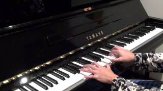 Coldplay - Trouble (piano) NEW IMPROVED VERSION
